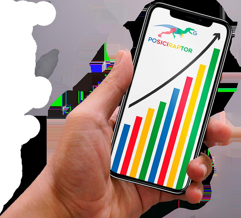 móvil posiciraptor agencia de marketing digital